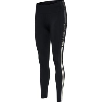 textil Dame Leggings Hummel Legging femme  hmlLGC blair mw noir