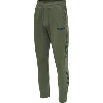 textil Herre Træningsbukser Hummel Jogging  hmlLegacy Tapered vert/noir