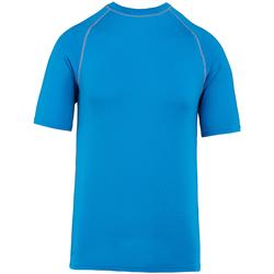 textil T-shirts m. korte ærmer Proact PA4007 Aqua
