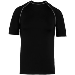 textil T-shirts m. korte ærmer Proact PA4007 Black