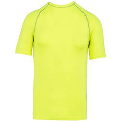 textil T-shirts m. korte ærmer Proact PA4007 Fluorescent Yellow