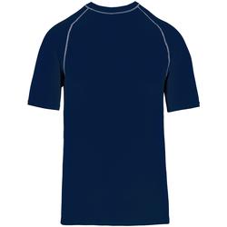 textil T-shirts m. korte ærmer Proact PA4007 Sporty Navy