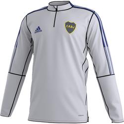 textil Herre Sweatshirts adidas Originals Sweat Club Atlético Boca Junior gris clair/bleu