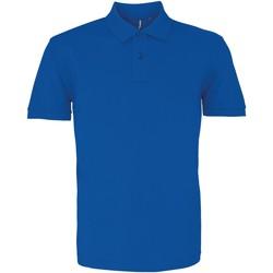 textil Herre Polo-t-shirts m. korte ærmer Asquith & Fox AQ082 Bright Royal