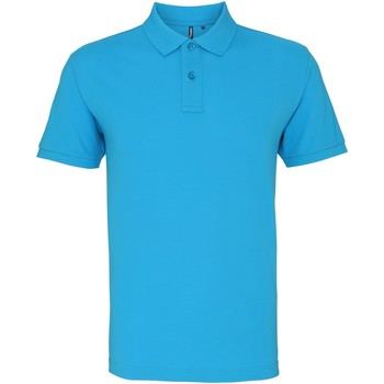 textil Herre Polo-t-shirts m. korte ærmer Asquith & Fox AQ082 Turquoise