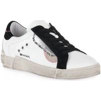 Sko Dame Lave sneakers At Go GO 4114 GALAXY Bianco