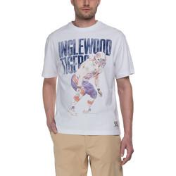 textil Herre T-shirts m. korte ærmer Franklin & Marshall T-shirt Franklin & Marshall Classique blanc