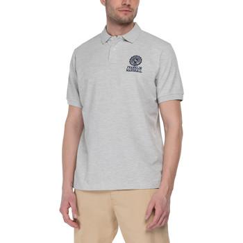 textil Herre Polo-t-shirts m. korte ærmer Franklin & Marshall Polo Franklin & Marshall Classique gris chiné