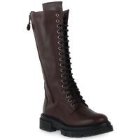 Sko Dame Chikke støvler Priv Lab A61 VIT MORO Marrone