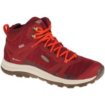 Sko Dame Høje sneakers Keen Terradora II WP Rød