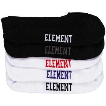 Accessories Herre Strømper Element Low-rise socks 5 p. Flerfarvet