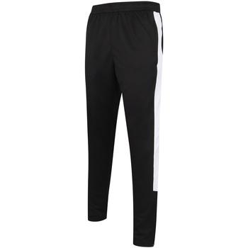 textil Herre Træningsbukser Finden & Hales LV881 Black/White