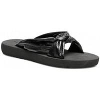 Sko Dame Lave sneakers Gioseppo CHANCLA  LEOLA 62376 Sort