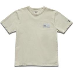 textil Herre T-shirts m. korte ærmer Halo T-shirt blanc