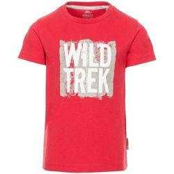 textil Dreng T-shirts m. korte ærmer Trespass  Red