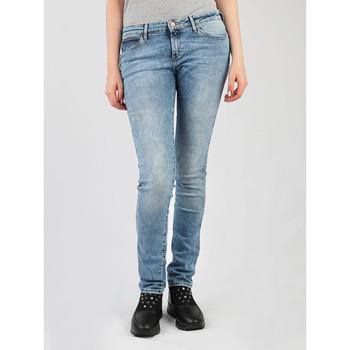 textil Dame Jeans - skinny Wrangler Best Blue Low Waist Courtney W23SX7850 blue