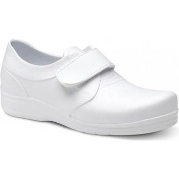 Sko Herre Lave sneakers Feliz Caminar ZAPATO SANITARIO VELCRO UNISEX FLOTANTES VELCRO Hvid