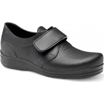Sko Herre Lave sneakers Feliz Caminar ZAPATO SANITARIO VELCRO UNISEX FLOTANTES VELCRO Sort