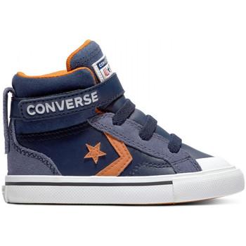 Sko Børn Høje sneakers Converse Pro blaze strap hi Blå