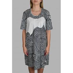 textil Dame Korte kjoler Antonio Marras  Hvid