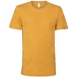 textil Herre T-shirts m. korte ærmer Bella + Canvas CA3001 Mustard