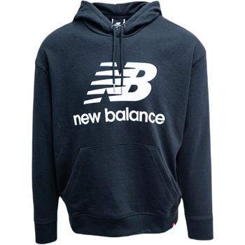 Sweatshirts New Balance  Essentials Stacked Logo Oversized Po