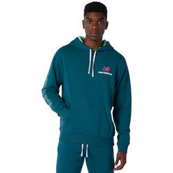 textil Herre Sportsjakker New Balance Athletics Clash Hoodie Blå