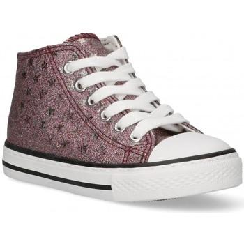 Sko Pige Høje sneakers Bubble 58907 Pink