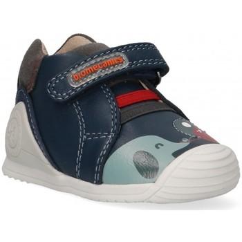 Sko Dreng Lave sneakers Biomecanics 57348 Blå