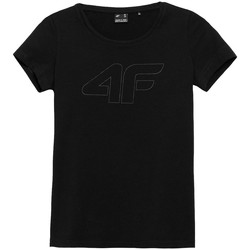 textil Dame T-shirts m. korte ærmer 4F TSD353 Sort