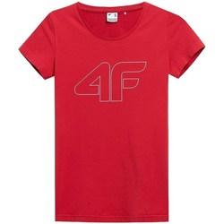 textil Dame T-shirts m. korte ærmer 4F TSD353 Rød