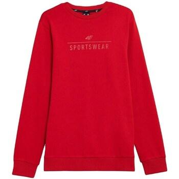 textil Herre Sweatshirts 4F BLM350 Rød