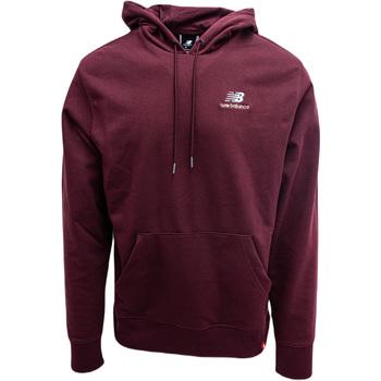 textil Sweatshirts New Balance Essentials Embroidered Lilla