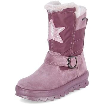 Sko Børn Vinterstøvler Superfit Flavia Pink
