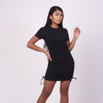textil Dame Korte kjoler Project X Paris Robe femme noir
