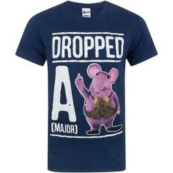 textil Herre T-shirts m. korte ærmer Clangers  Navy