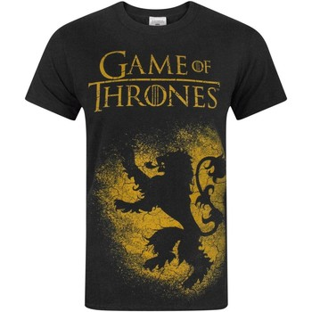 textil Herre T-shirts m. korte ærmer Game Of Thrones  Black