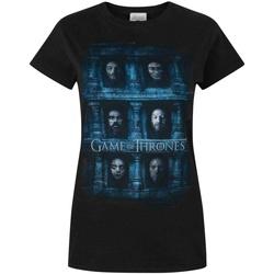 textil Dame T-shirts m. korte ærmer Game Of Thrones  Black