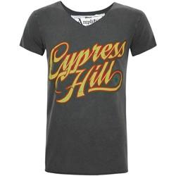 textil Herre T-shirts m. korte ærmer Amplified  Charcoal