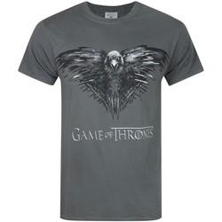 textil Herre T-shirts m. korte ærmer Game Of Thrones  Charcoal