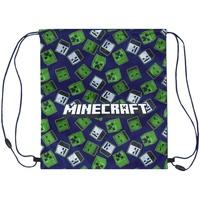 Tasker Børn Sportstasker Minecraft  Blue