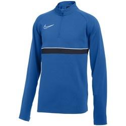 textil Dreng Sweatshirts Nike Drifit Academy 21 Drill Blå