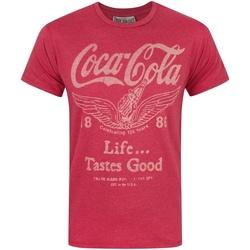 textil Herre T-shirts m. korte ærmer Junk Food  Red