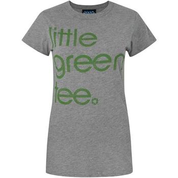textil Dame T-shirts m. korte ærmer Junk Food  Grey Marl