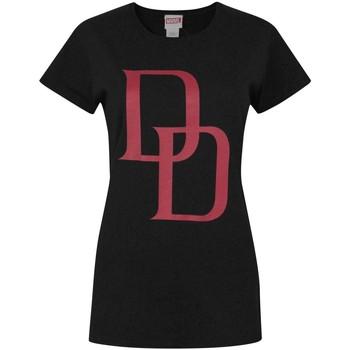 textil Dame T-shirts m. korte ærmer Daredevil  Black/Red