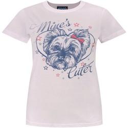 textil Dame T-shirts m. korte ærmer Junk Food  Pale Pink