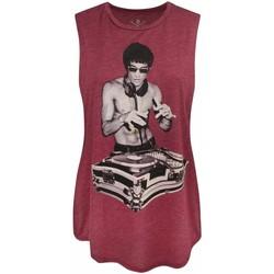 textil Dame Toppe / T-shirts uden ærmer Bna78  Red