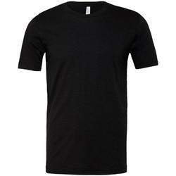textil T-shirts m. korte ærmer Bella + Canvas CVC3001 Black Heather