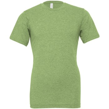 textil T-shirts m. korte ærmer Bella + Canvas CVC3001 Heather Green