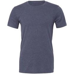textil T-shirts m. korte ærmer Bella + Canvas CVC3001 Heather Navy
